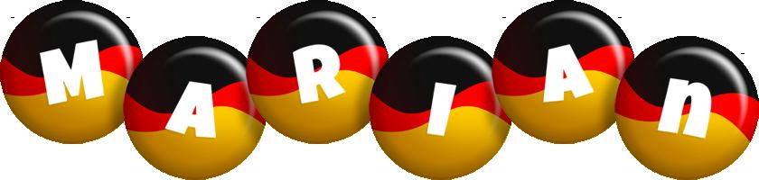 Marian german logo