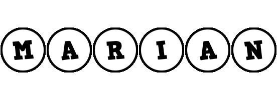 Marian handy logo