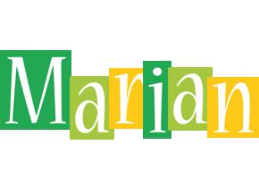 Marian lemonade logo