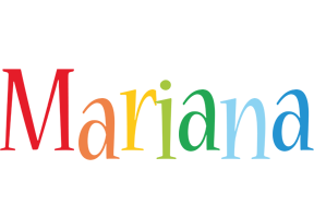 Mariana birthday logo