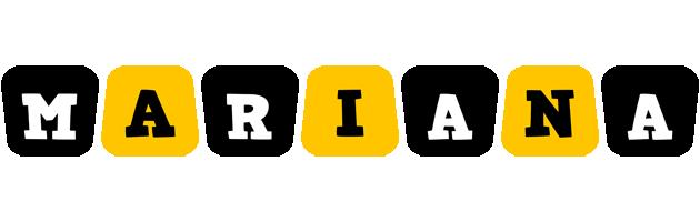 Mariana boots logo
