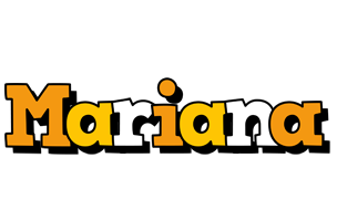 Mariana cartoon logo