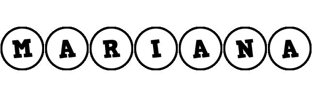 Mariana handy logo