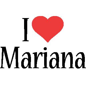 Mariana i-love logo