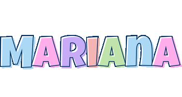 Mariana pastel logo