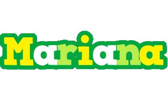 Mariana soccer logo