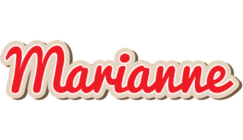 Marianne chocolate logo