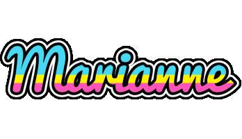 Marianne circus logo