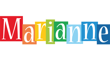 Marianne colors logo