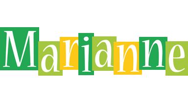 Marianne lemonade logo