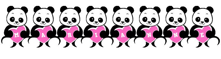 Marianne love-panda logo