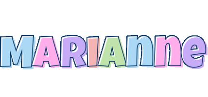 Marianne pastel logo