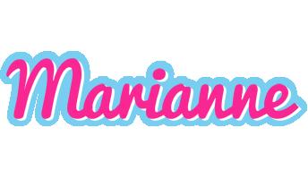 Marianne popstar logo