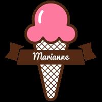 Marianne premium logo
