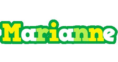 Marianne soccer logo
