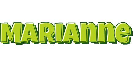 Marianne summer logo