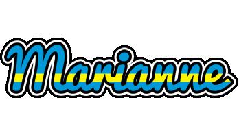Marianne sweden logo