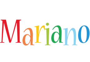 Mariano birthday logo