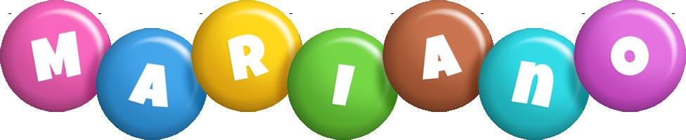 Mariano candy logo