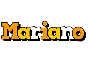 Mariano cartoon logo
