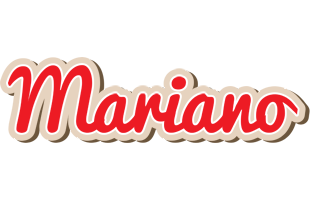 Mariano chocolate logo