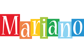 Mariano colors logo