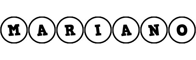 Mariano handy logo