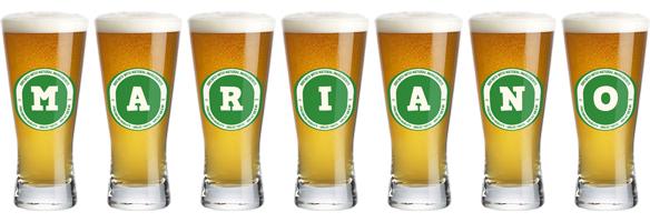 Mariano lager logo