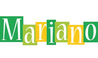 Mariano lemonade logo