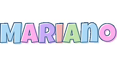 Mariano pastel logo