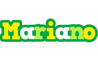 Mariano soccer logo