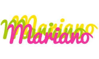 Mariano sweets logo