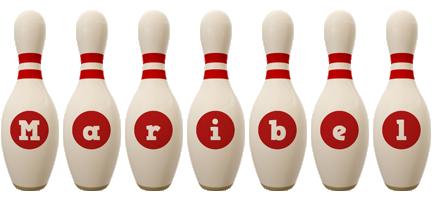 Maribel bowling-pin logo