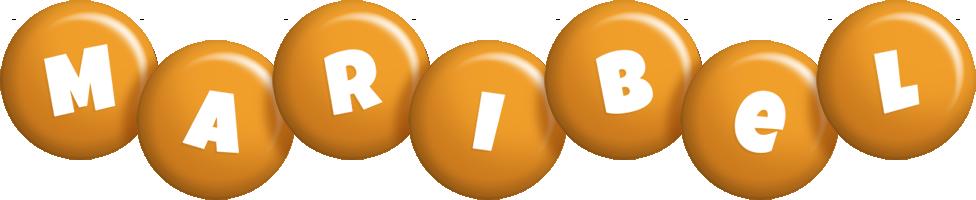 Maribel candy-orange logo