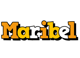 Maribel cartoon logo