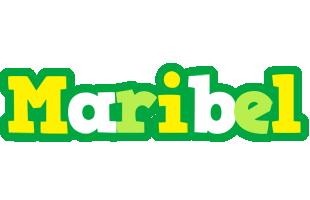 Maribel soccer logo