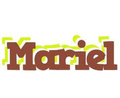 Mariel caffeebar logo