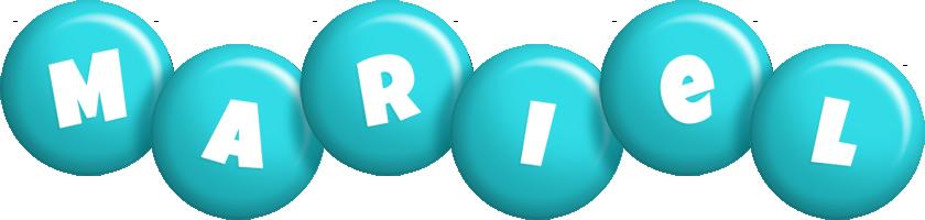 Mariel candy-azur logo