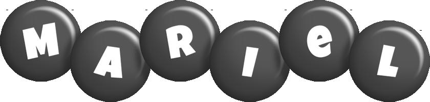 Mariel candy-black logo