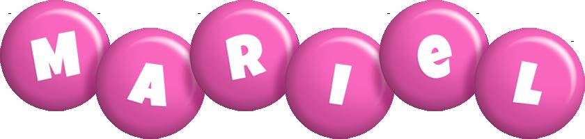 Mariel candy-pink logo