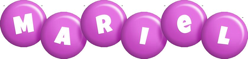 Mariel candy-purple logo
