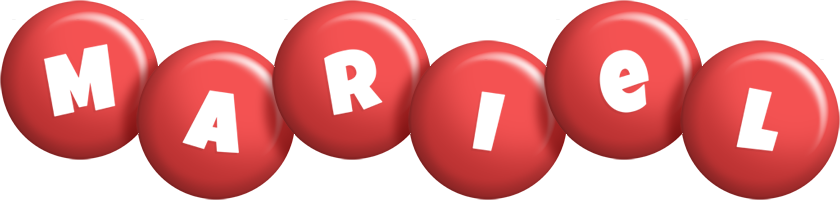 Mariel candy-red logo