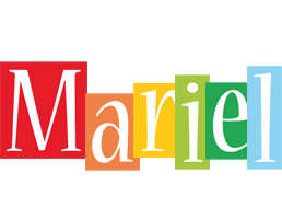 Mariel colors logo