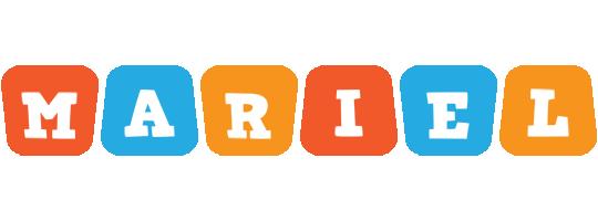 Mariel comics logo