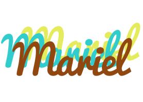 Mariel cupcake logo