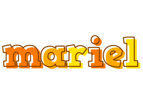 Mariel desert logo