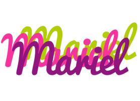 Mariel flowers logo