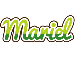 Mariel golfing logo