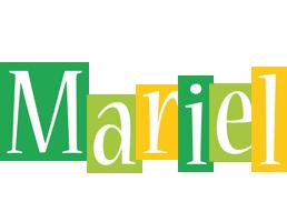 Mariel lemonade logo
