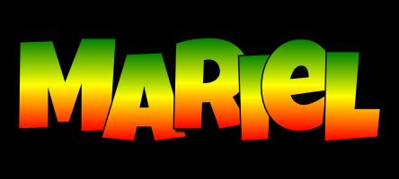 Mariel mango logo